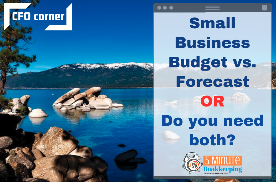 Small Business Budget vs. Forecast – or Do You Need Both?