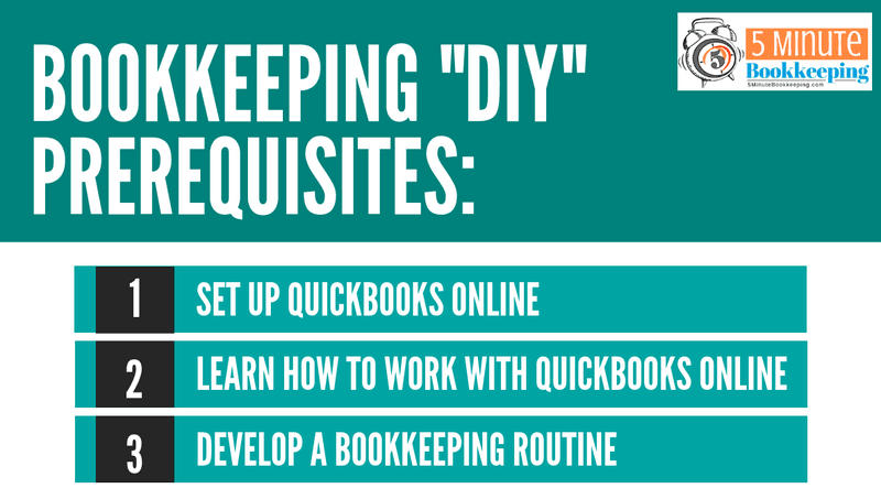 What does it take to do your own bookkeeping?